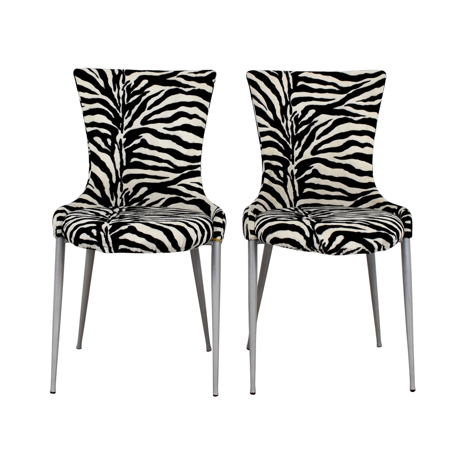 European furniture company contemporary zebra dining chairs sale
