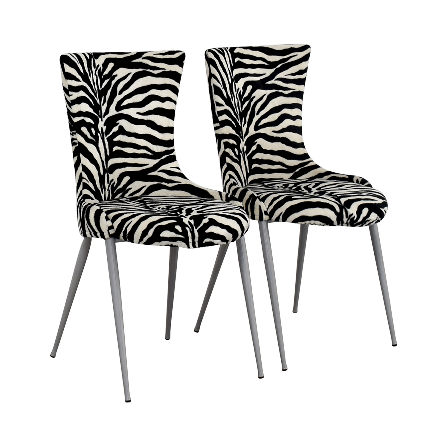 Awesome ... European Furniture Company Contemporary Zebra Dining Chairs / Dining  Chairs ...