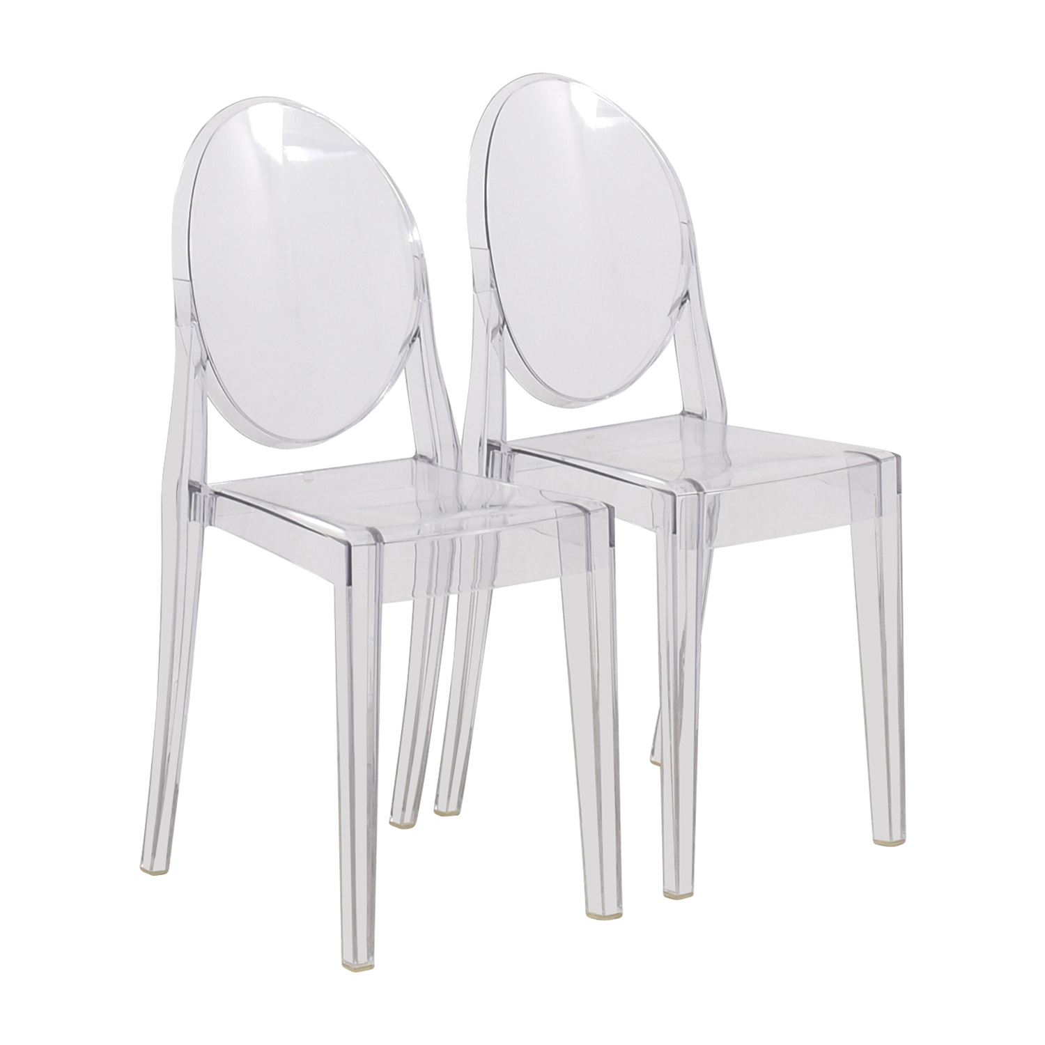 shop Kartell Starck Victoria Ghost Chairs Kartell Chairs