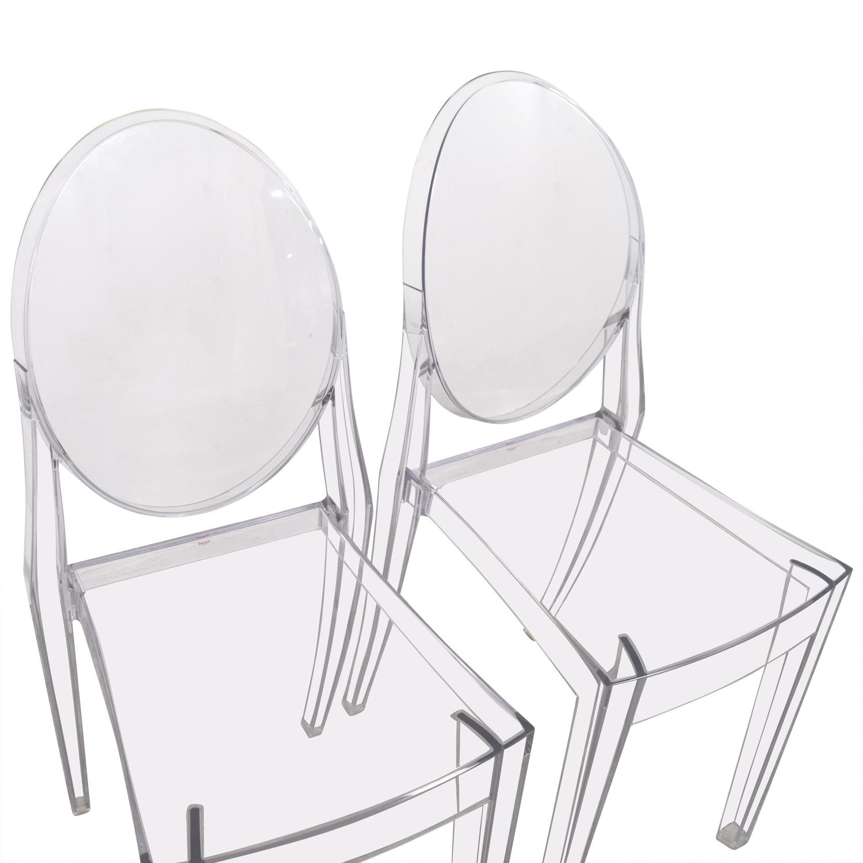 Kartell Kartell Starck Victoria Ghost Chairs discount