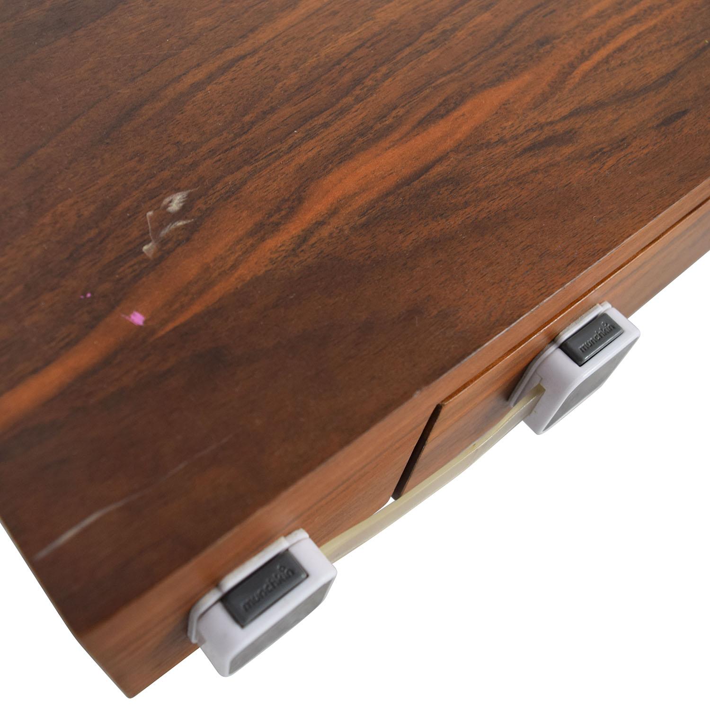 Pangea Home Pangea Home Wood and Metal X-Leg Desk price