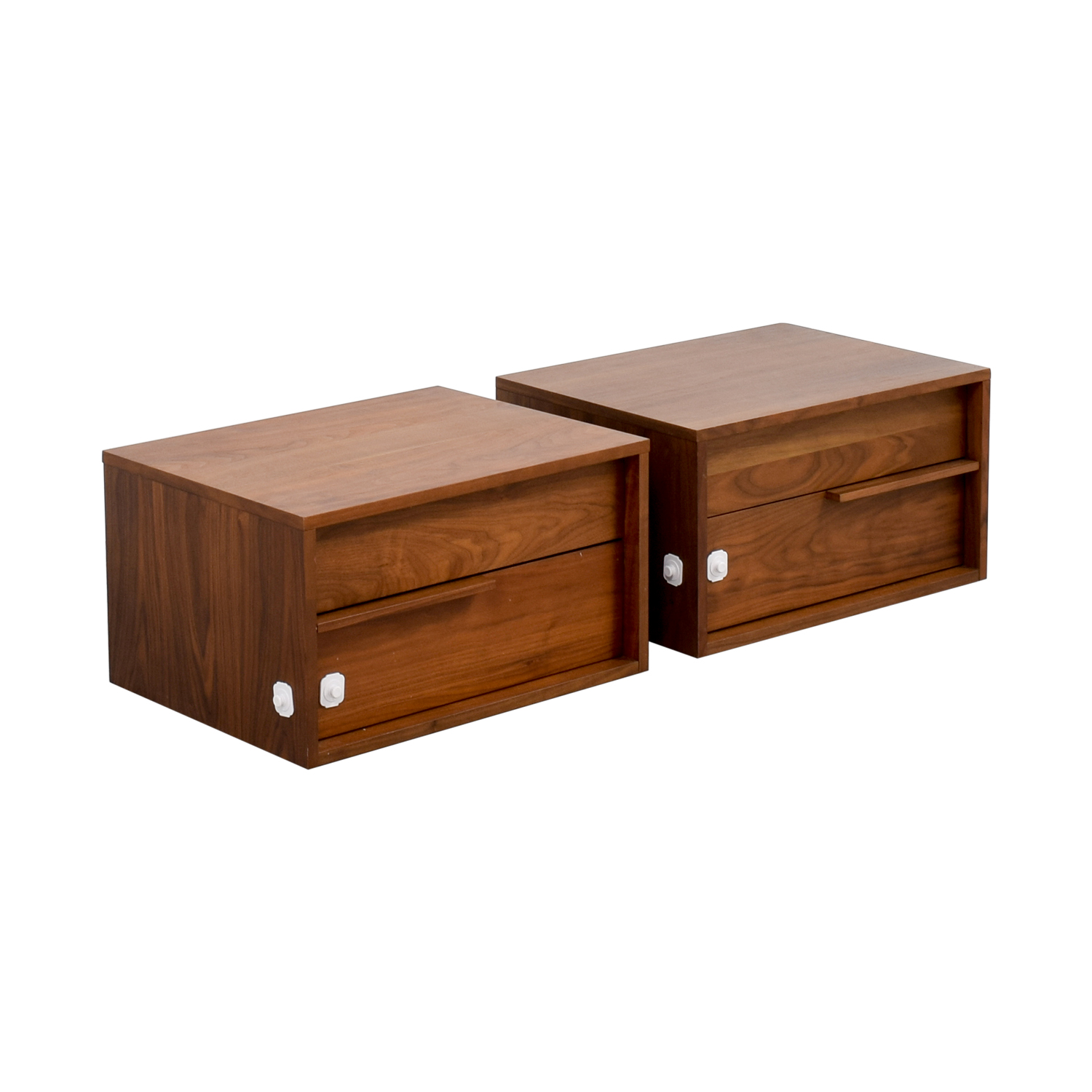 Modloft Modloft Jane Two-Drawer Nightstands
