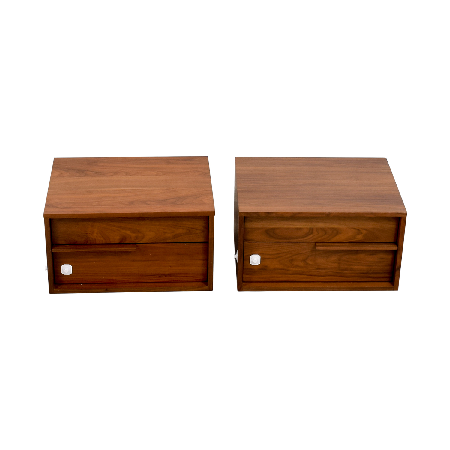 Modloft Modloft Jane Two-Drawer Nightstands for sale