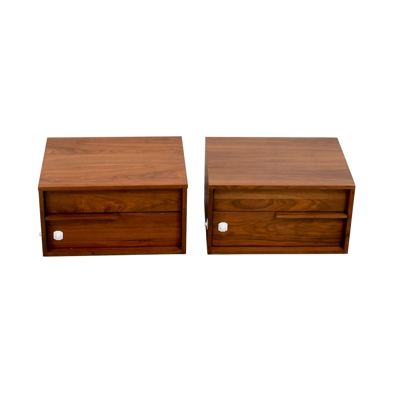 Modloft Modloft Jane Two-Drawer Nightstands for sale