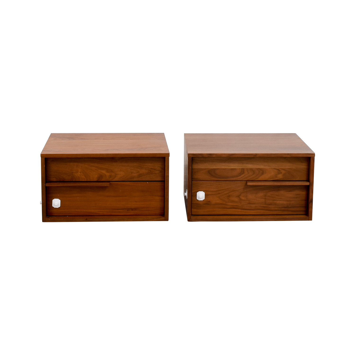 41% OFF Modloft Modloft Jane Two Drawer Nightstands Tables