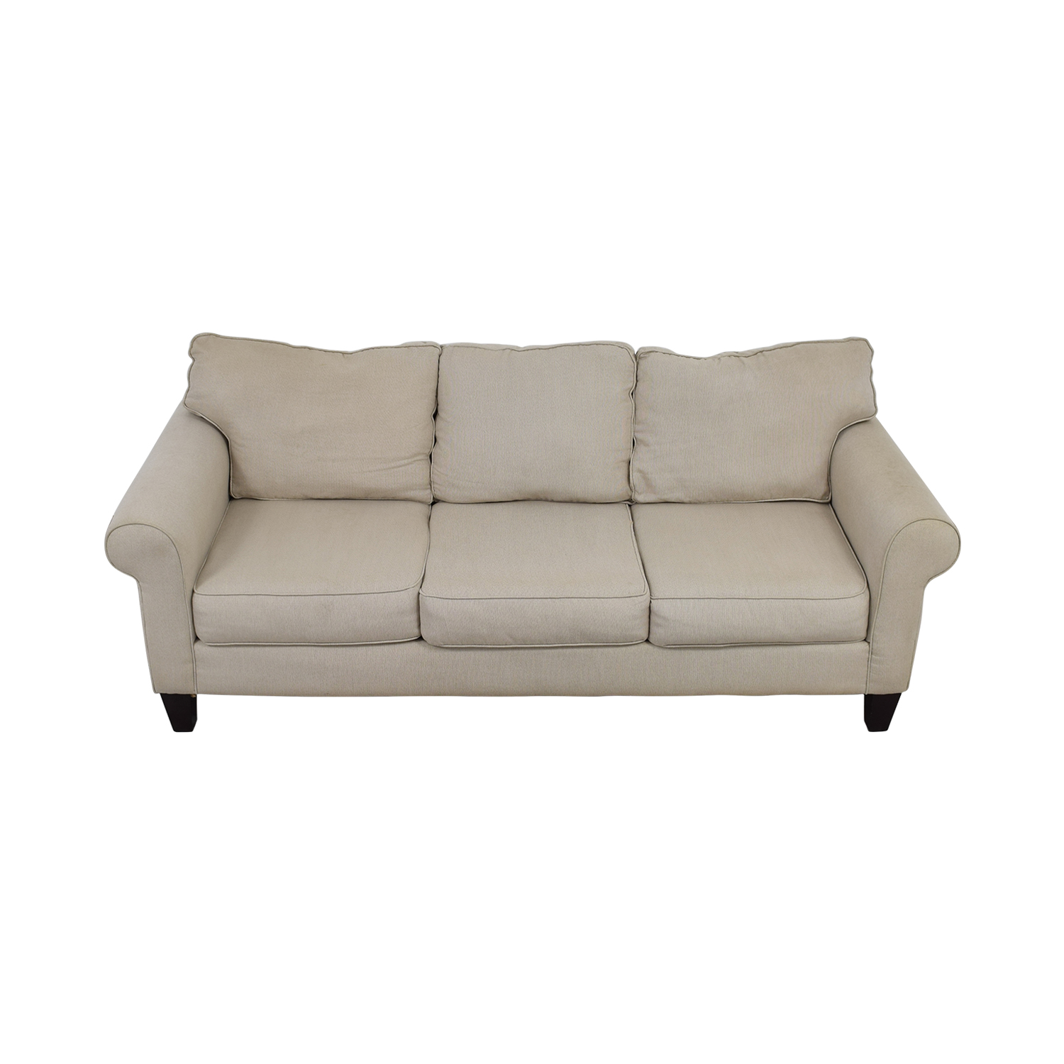 shop Raymour and Flanigan Langston Tan Couch Raymour and Flanigan Sofas