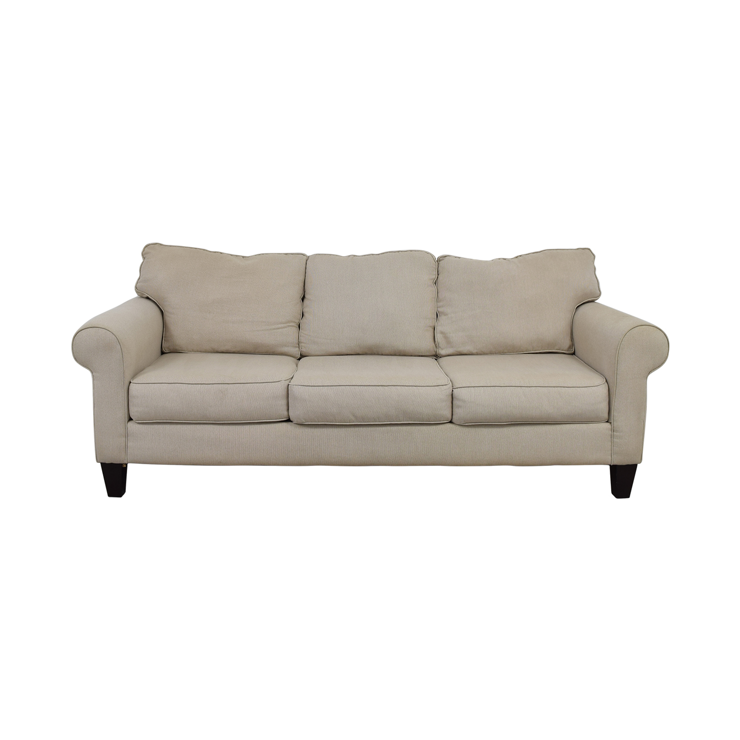 shop Raymour and Flanigan Langston Tan Couch Raymour and Flanigan Classic Sofas