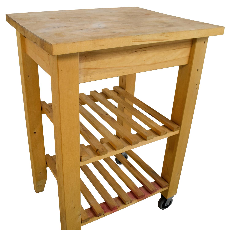 Ikea Butcher Block Kitchen Cart