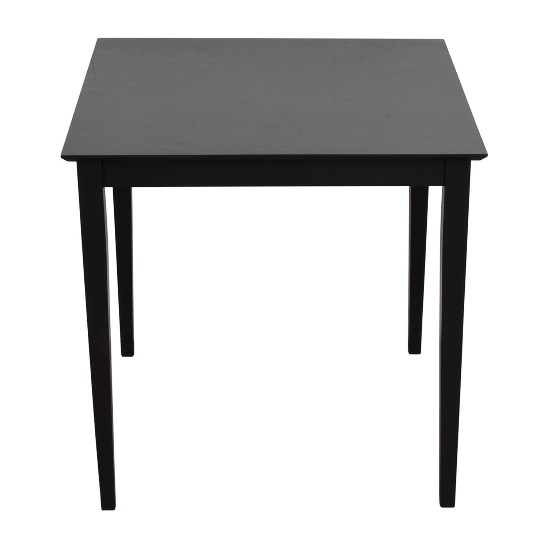 IKEA IKEA Black Bar Table nj