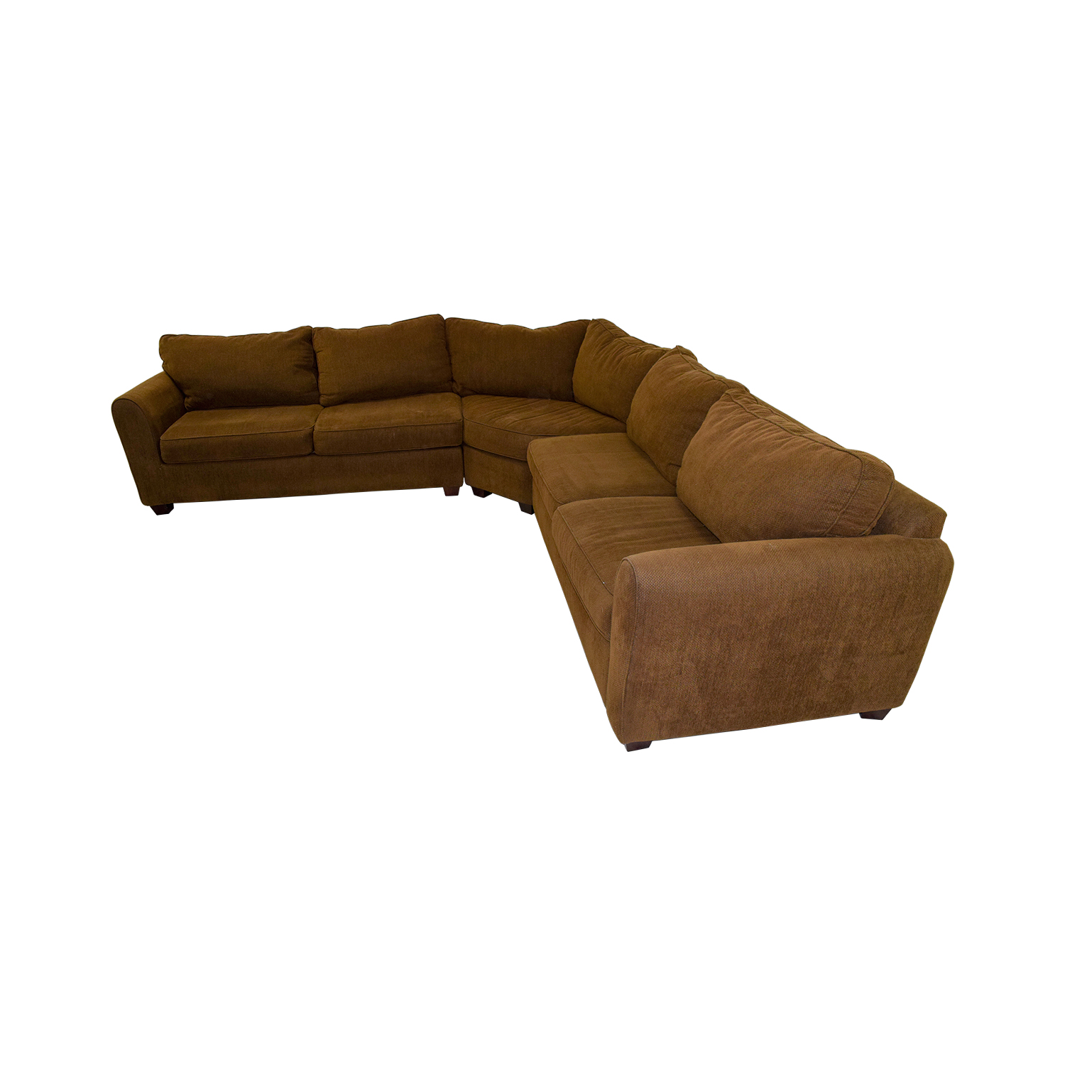 76 off brown l shaped sectional sofas for 76 sectional sofa