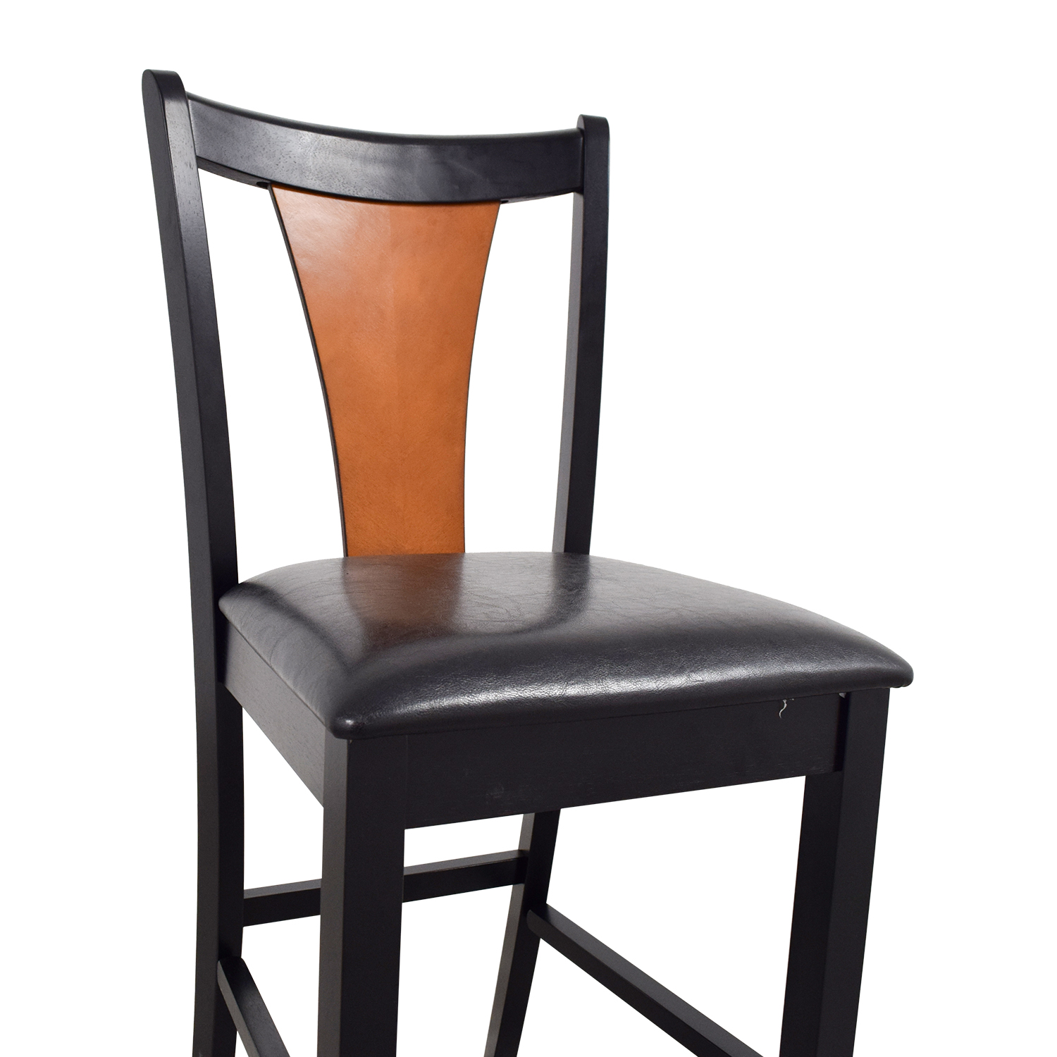 Coaster Furniture Amber-Black Finish Counter Chair / Chairs