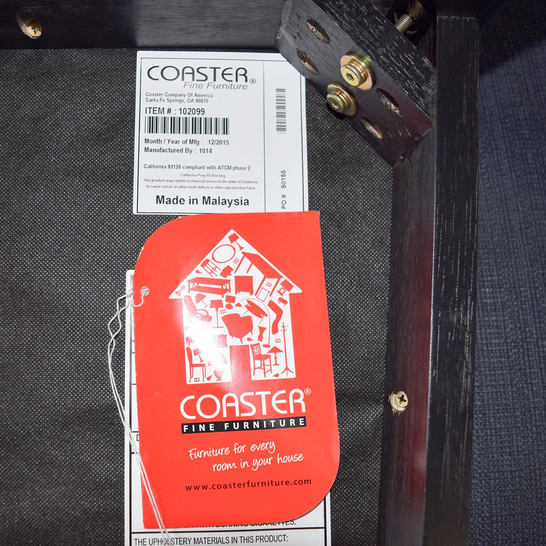 shop Coaster Furniture Amber-Black Finish Counter Chair Coaster Furniture Accent Chairs