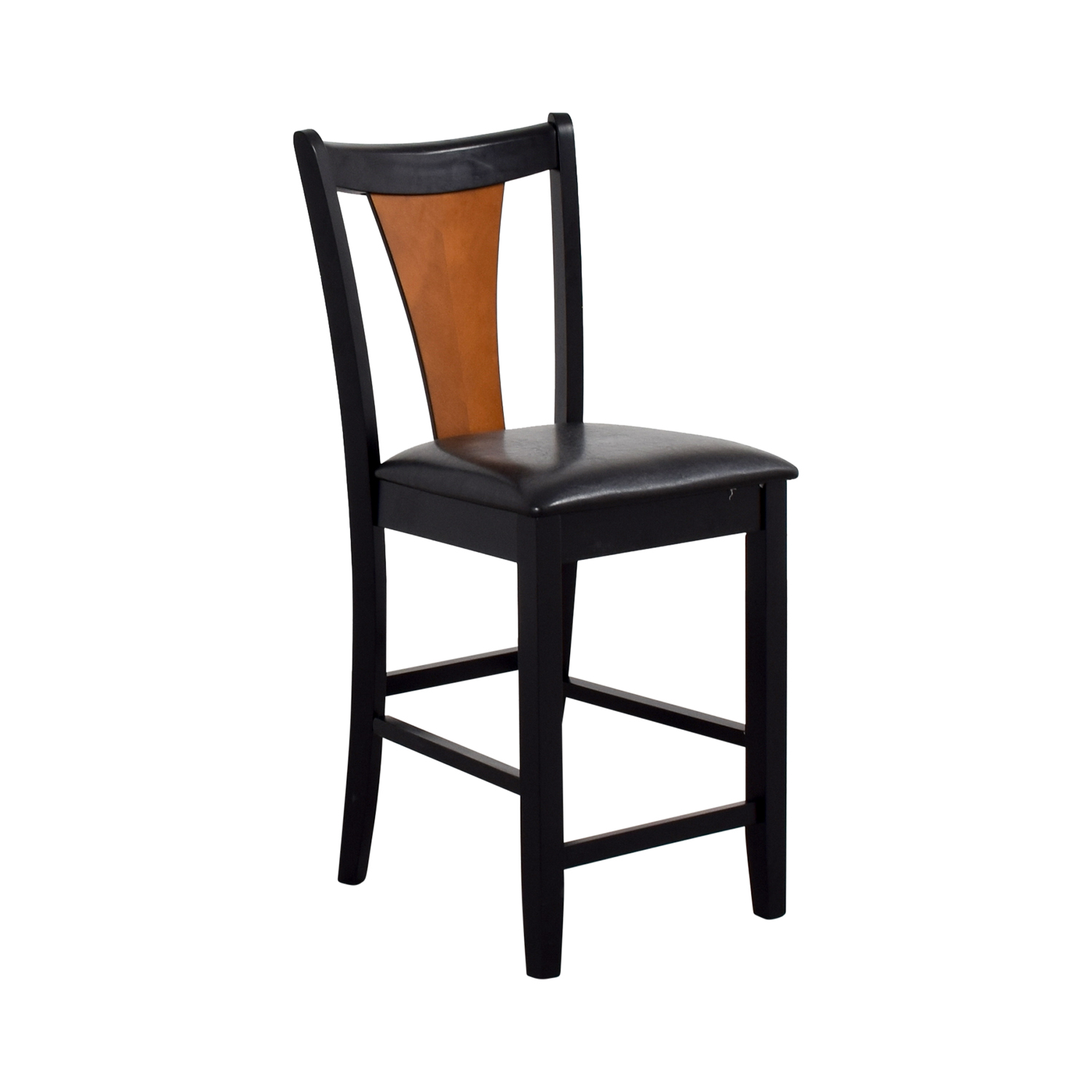 Coaster Furniture Coaster Furniture Amber-Black Finish Counter Chair nyc