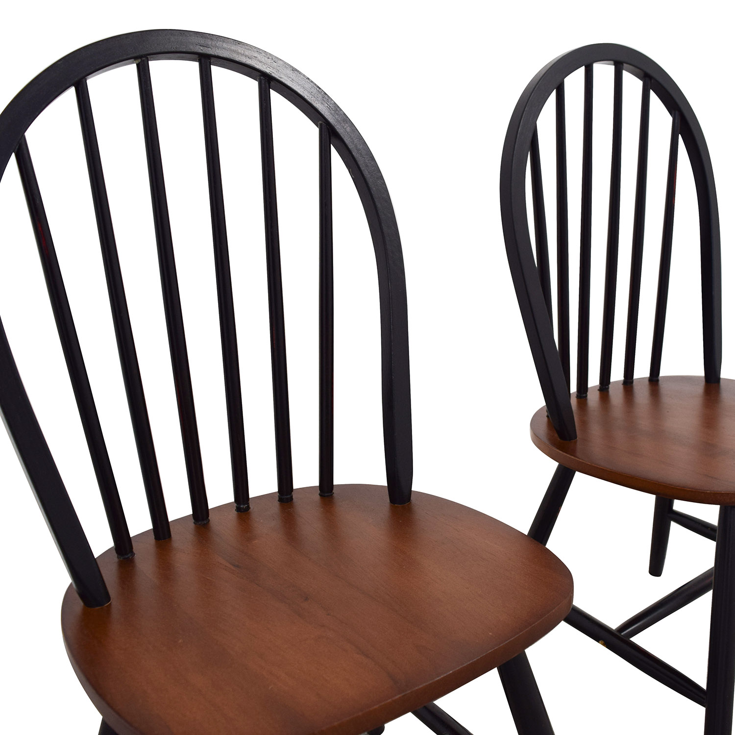 shop Two-Tone Wood Dining Chairs