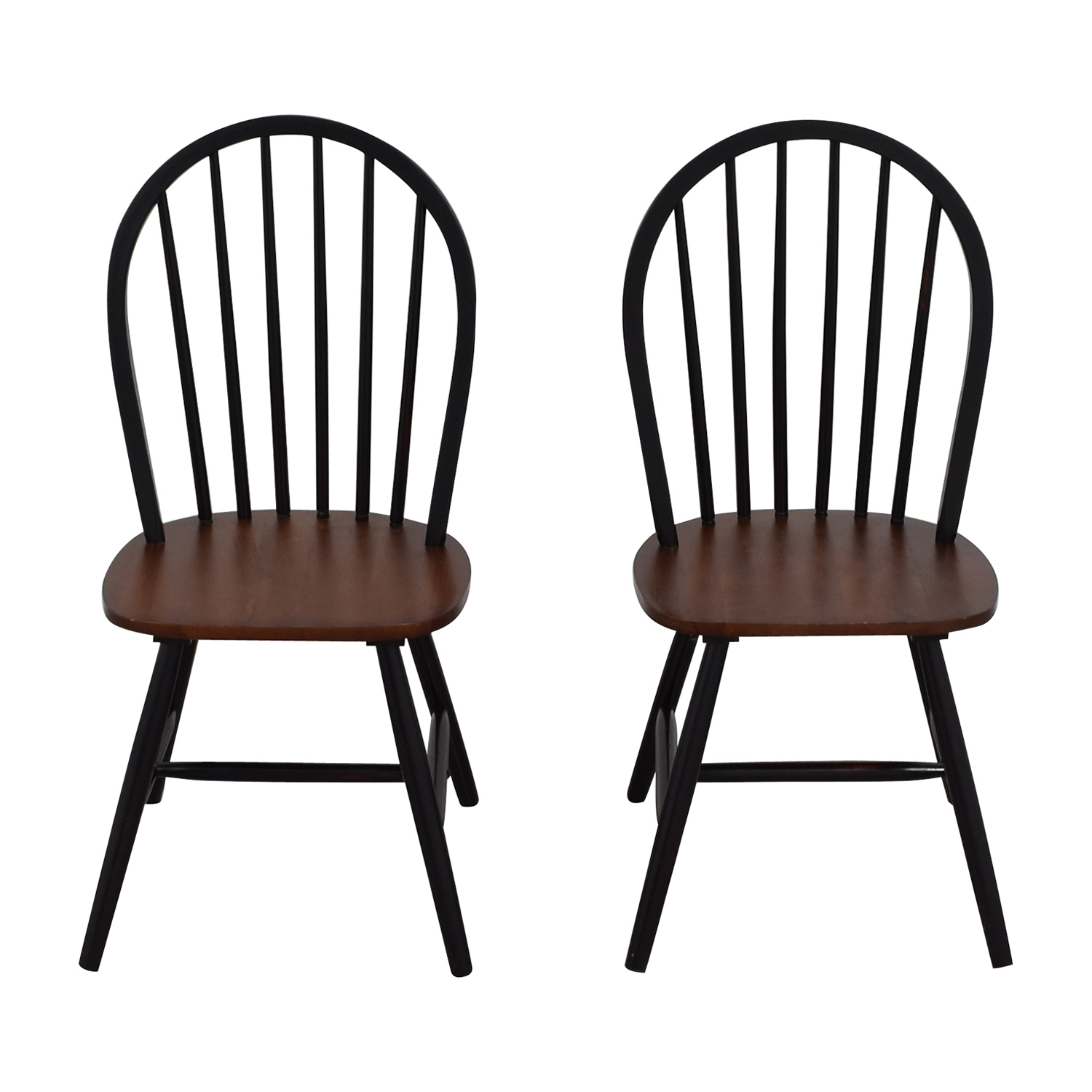 Two-Tone Wood Dining Chairs price