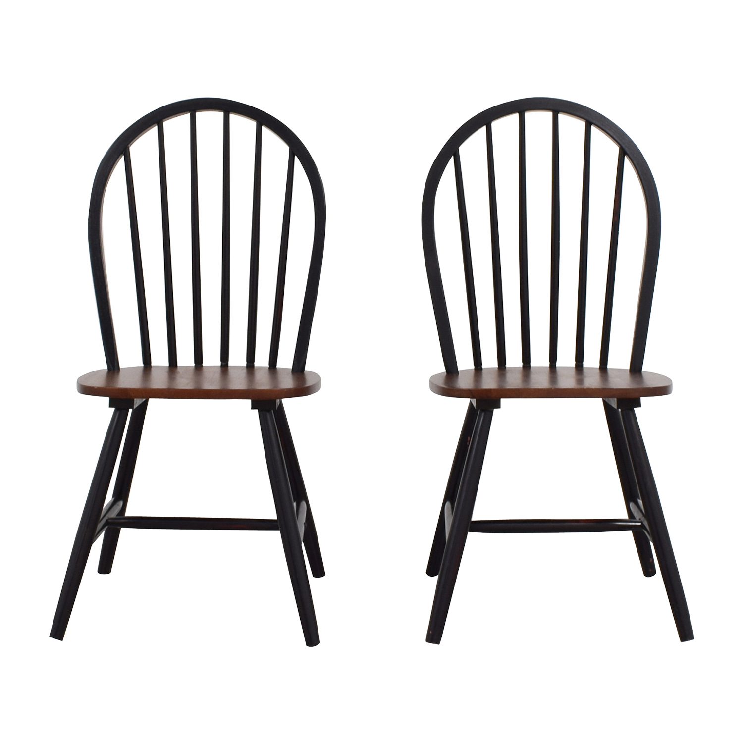 Two-Tone Wood Dining Chairs nyc