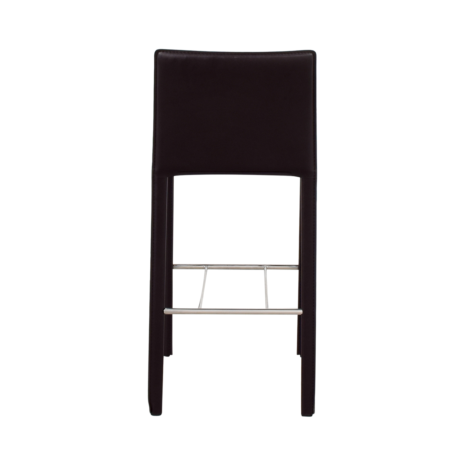 buy Coaster Modern Brown Leatherette Bar Chair Coaster Stools