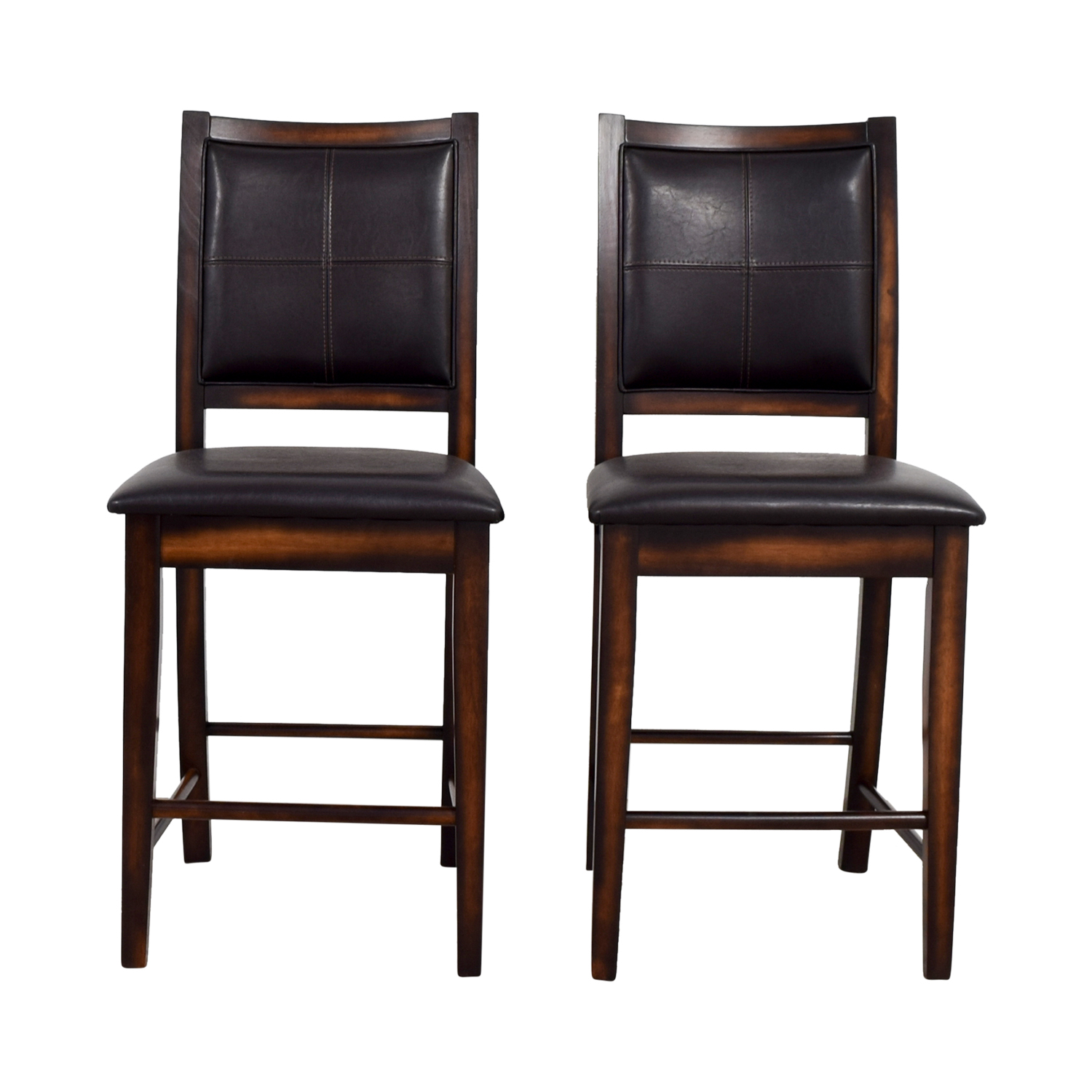 Brown Leather Counter Stools price