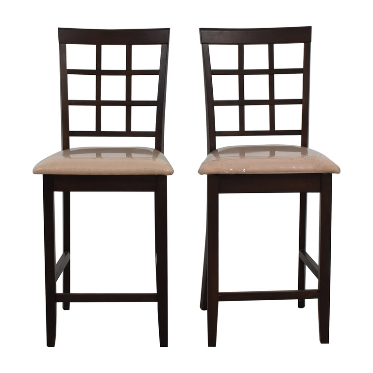 Cappuccino Counter Height Chairs nyc
