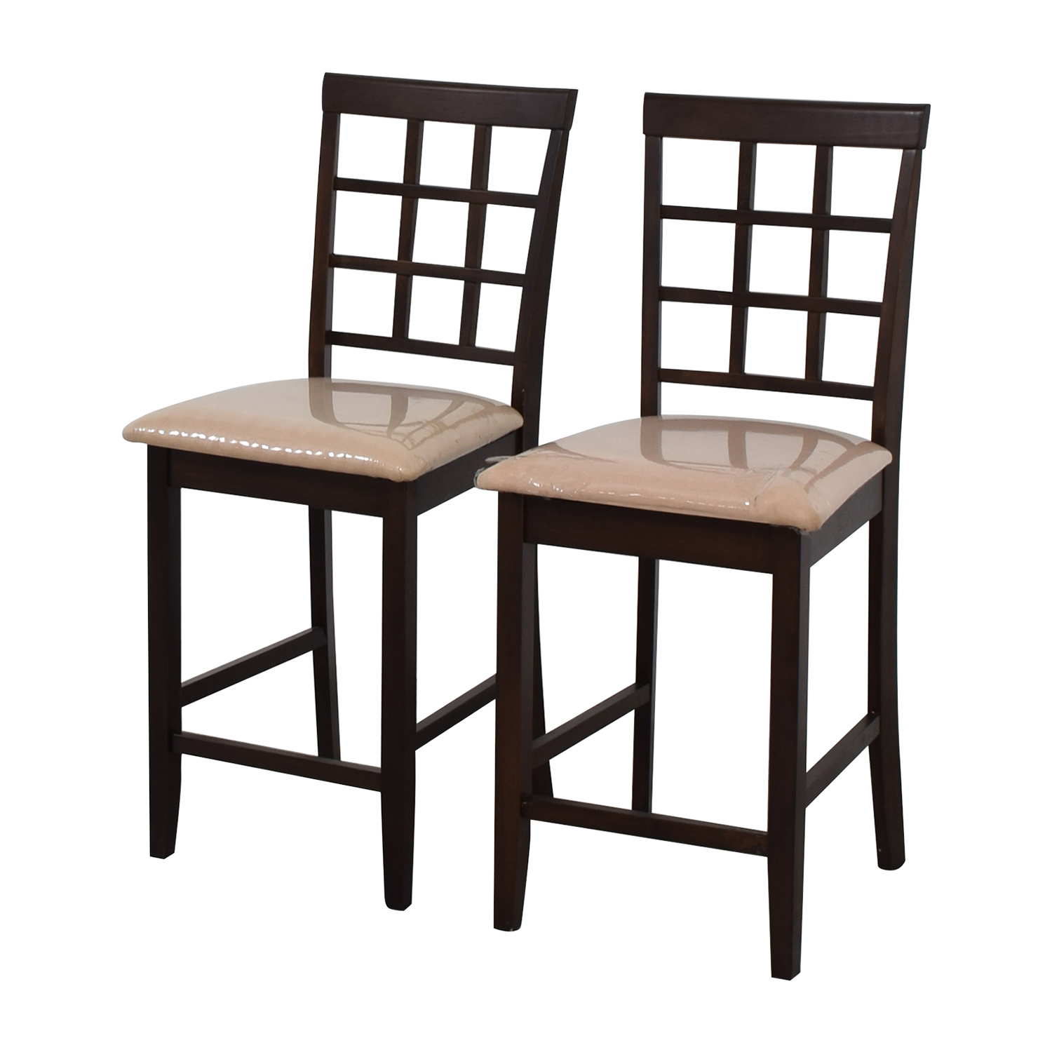 buy Cappuccino Counter Height Chairs Stools