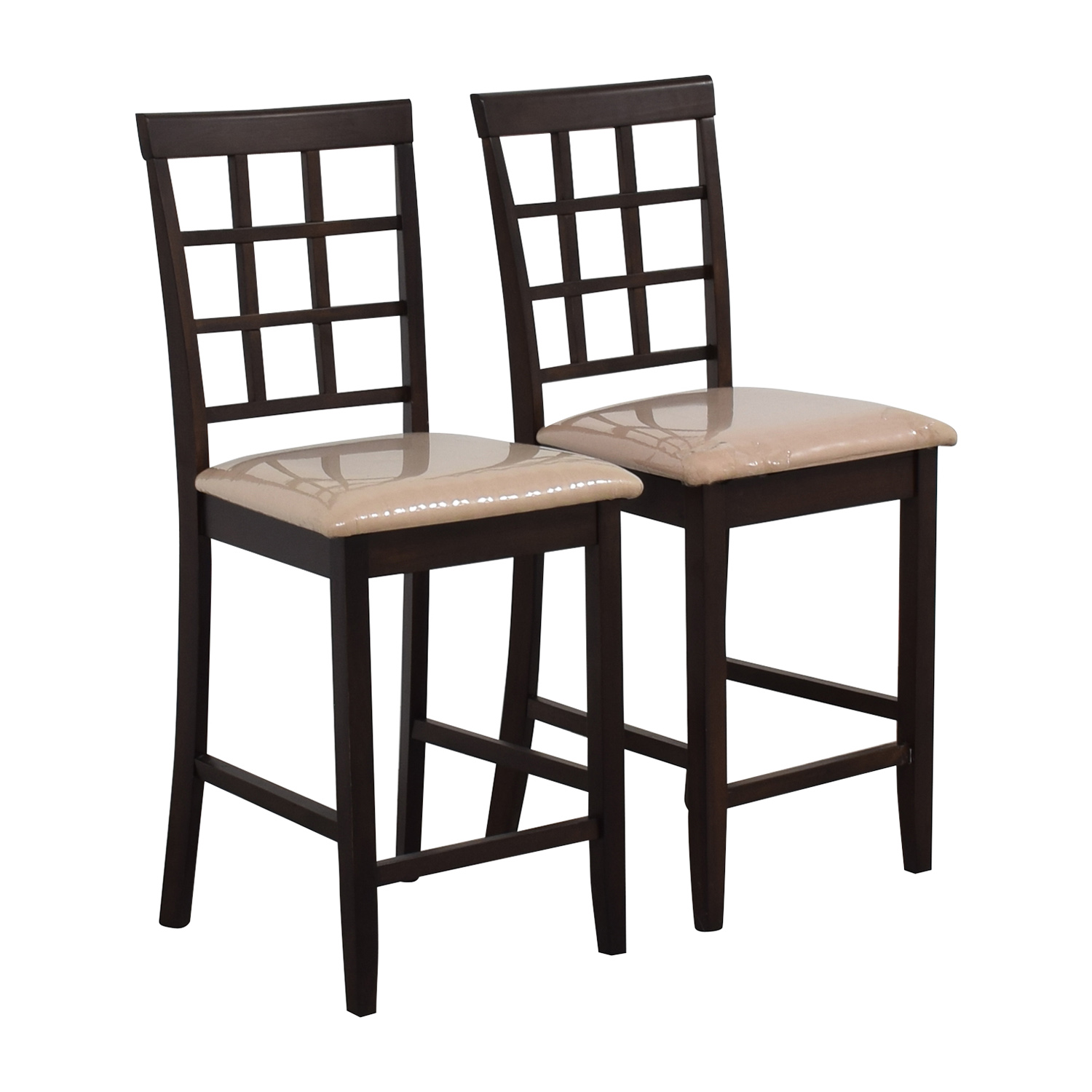 Cappuccino Counter Height Chairs / Stools