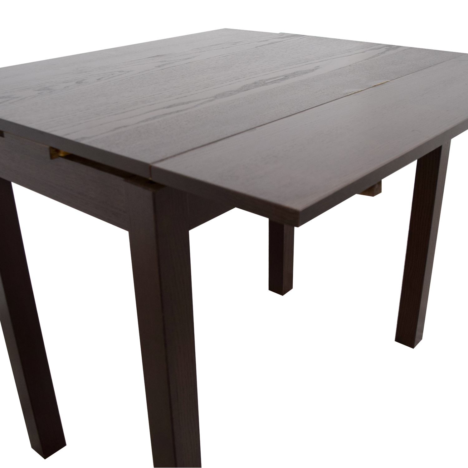 40% OFF IKEA IKEA Brown Wood Expandable Table Tables