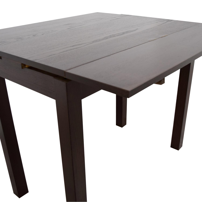 buy IKEA IKEA Brown Wood Expandable Table online
