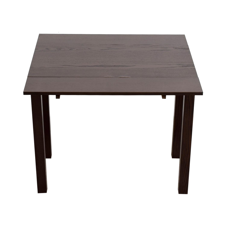 IKEA IKEA Brown Wood Expandable Table coupon