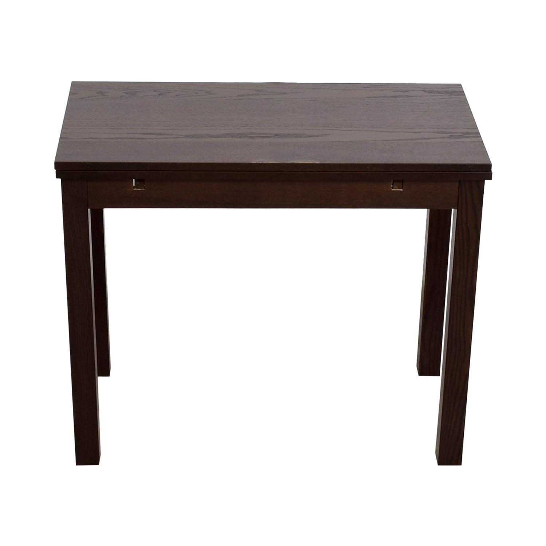 IKEA IKEA Brown Wood Expandable Table nyc