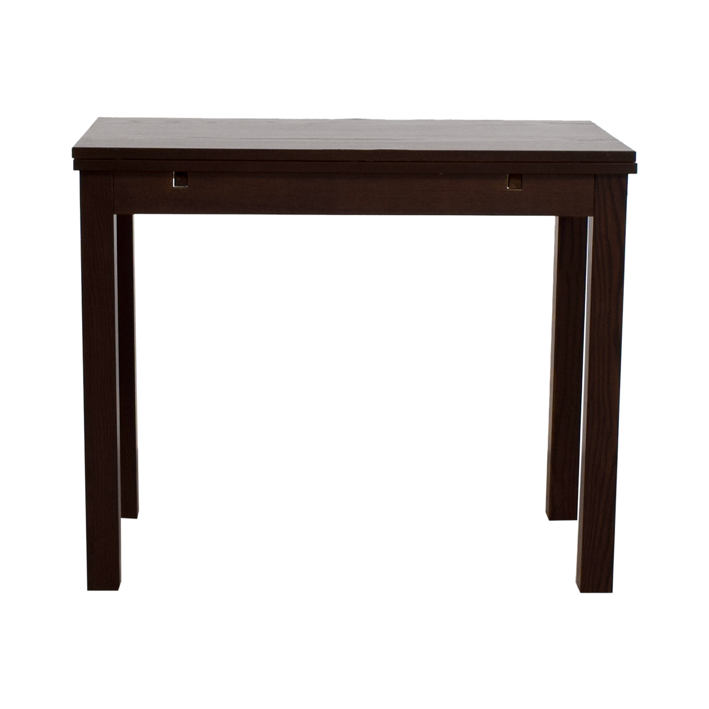 IKEA IKEA Brown Wood Expandable Table nj