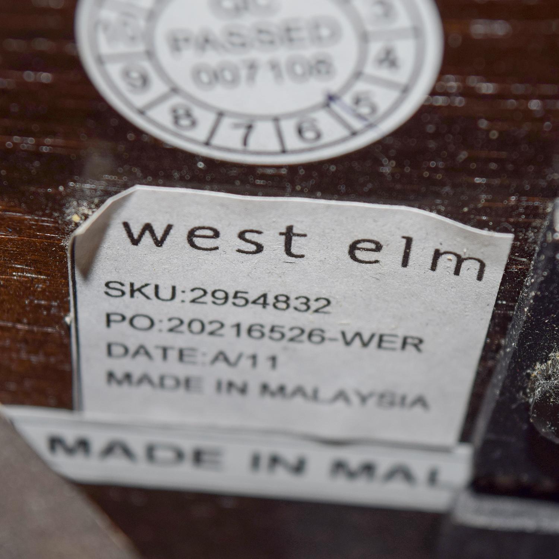 West Elm West Elm Tan Nailhead Queen Bed coupon