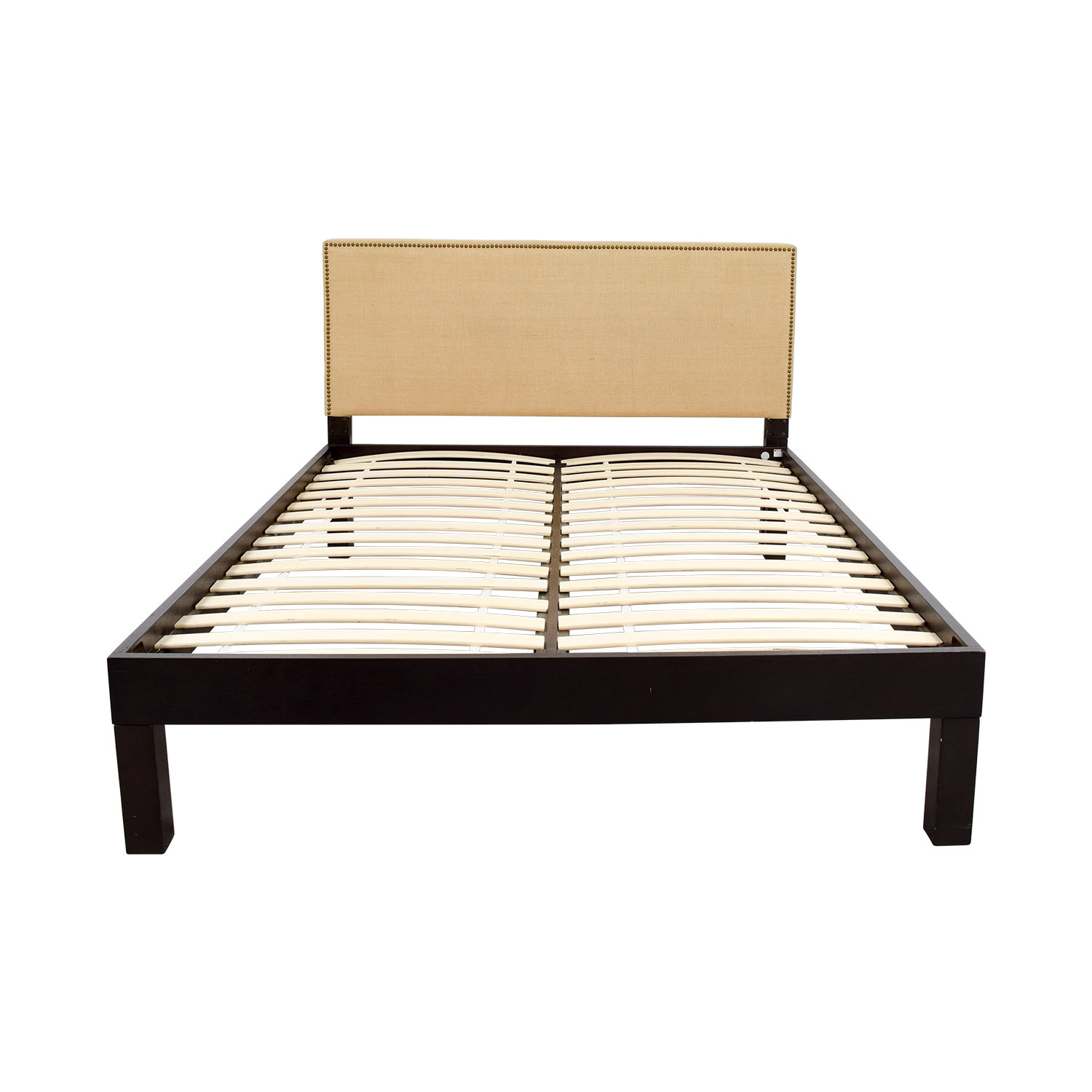 84 Off Ikea Ikea Queen Wooden Platform Bed Frame Beds