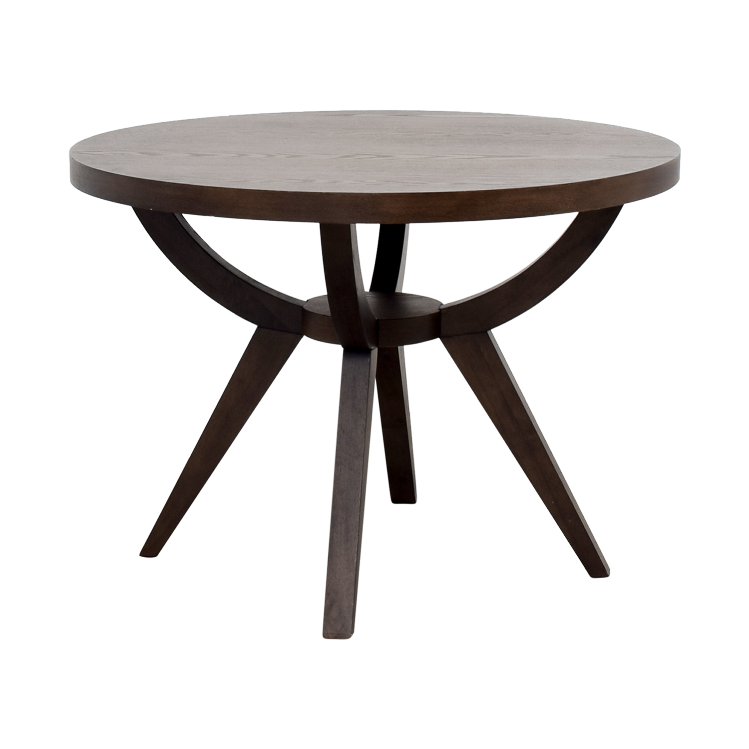 West Elm Arc Pedestal Dining Table sale