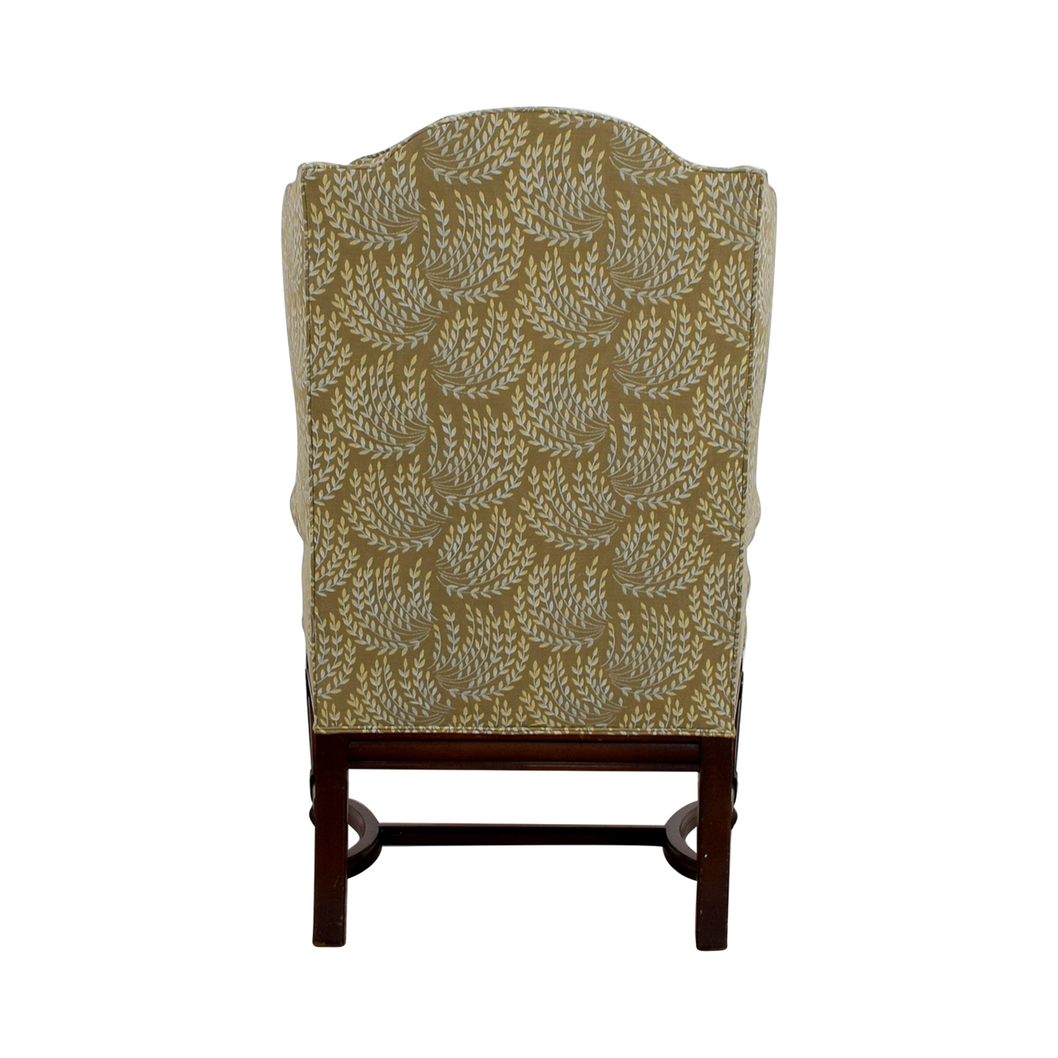 shop Hickory Olive Vintage Accent Chair Hickory