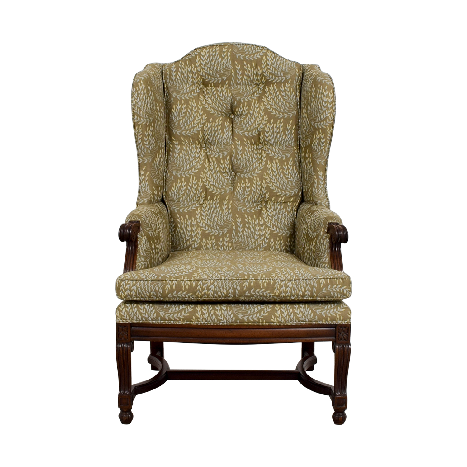 Hickory Olive Vintage Accent Chair Price