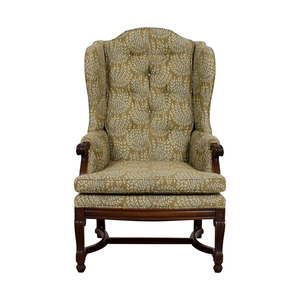 Hickory Chair Hickory Olive Vintage Accent Chair nyc