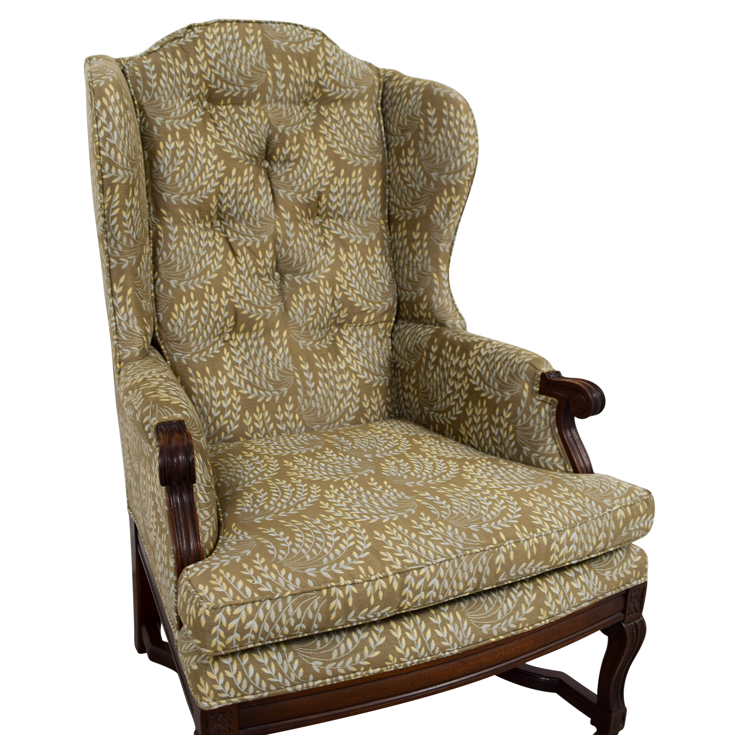 Hickory Olive Vintage Accent Chair / Accent Chairs