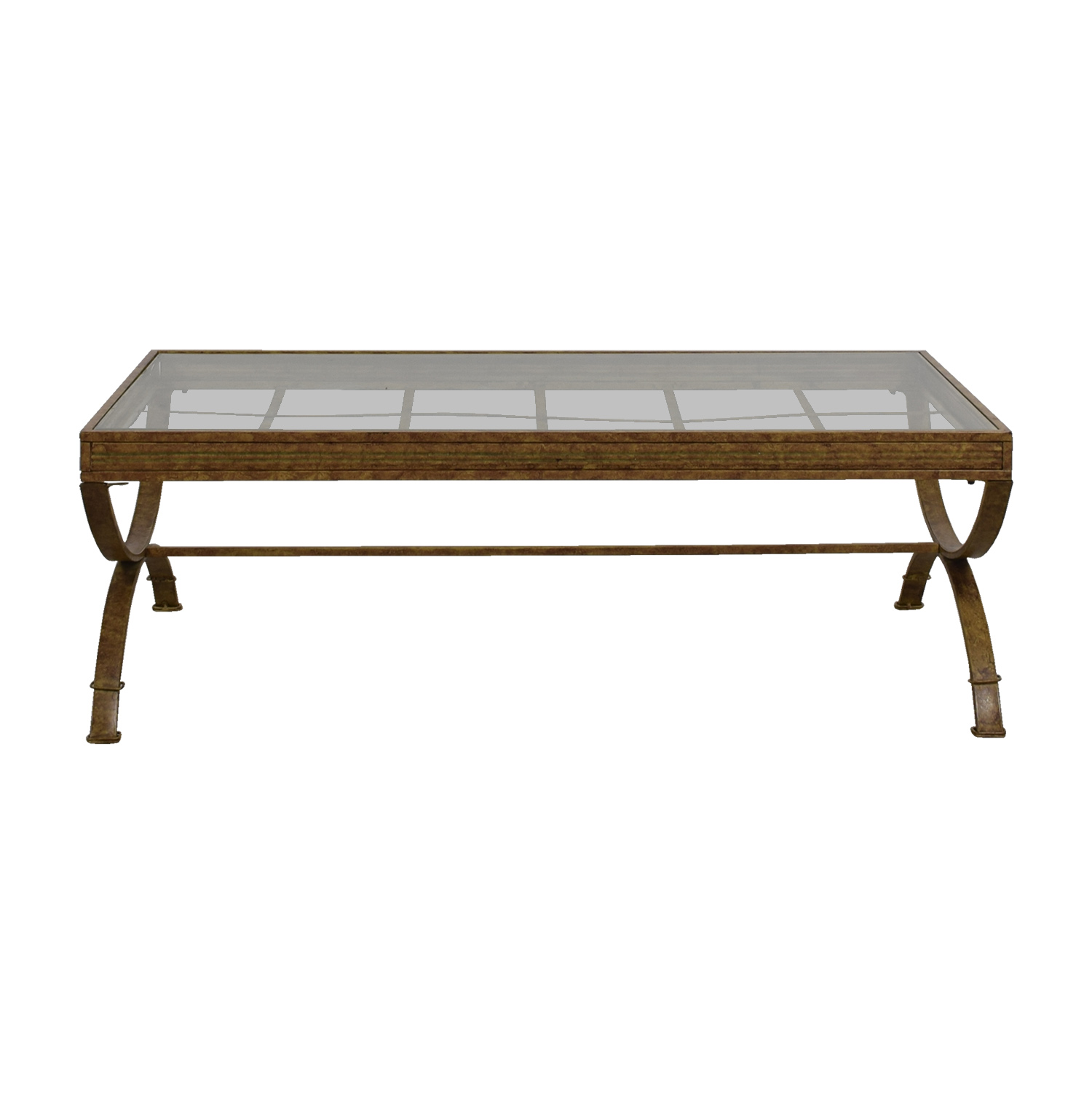buy Bobs Furniture Rustic Glass Coffee Table Bobs Furniture Coffee Tables