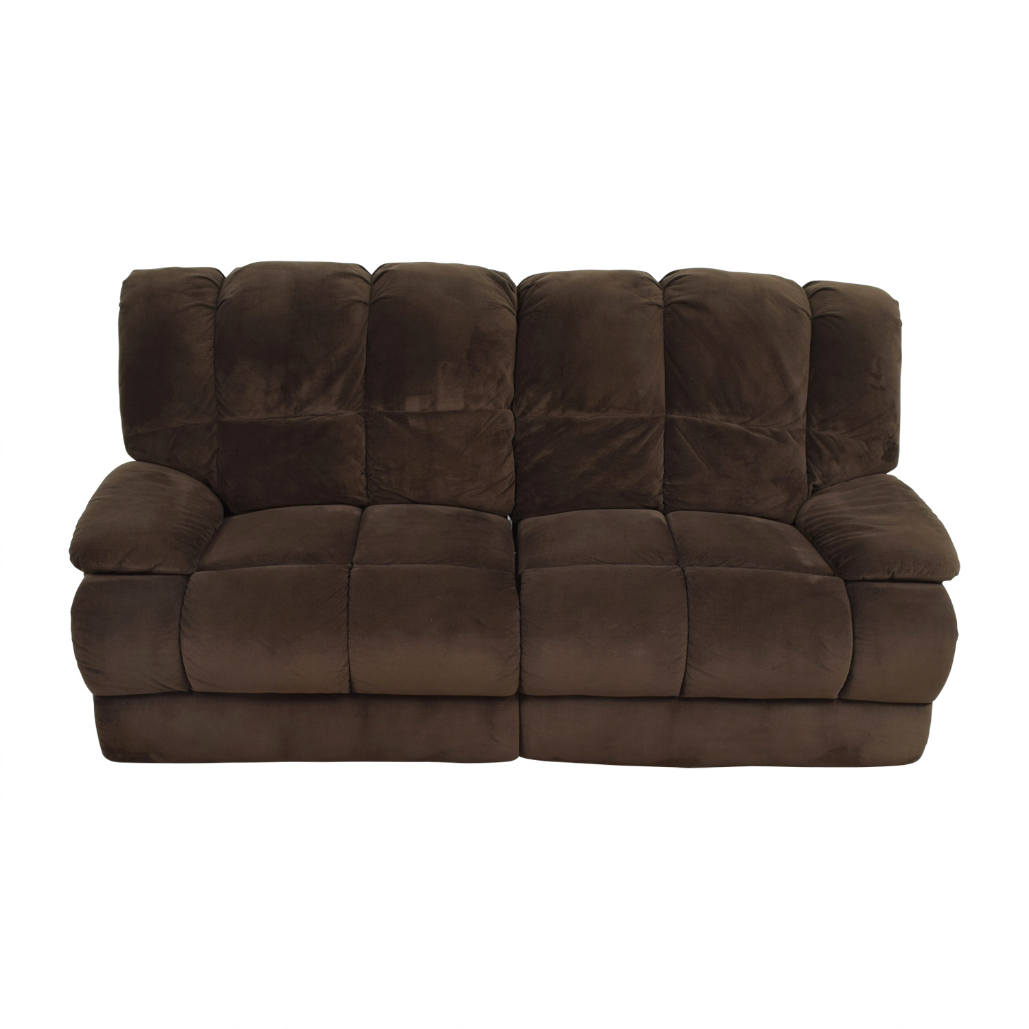 American Signature Furniture Brown Recliner Sofa / Chairs