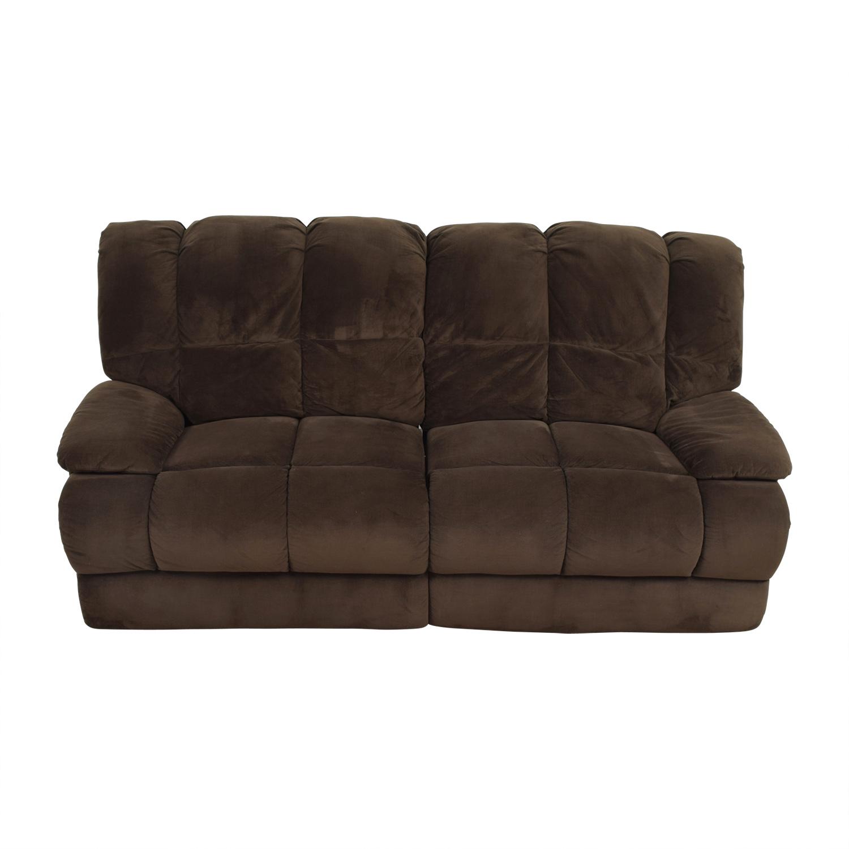 Astounding 79 Off American Signature American Signature Furniture Brown Recliner Sofa Sofas Short Links Chair Design For Home Short Linksinfo