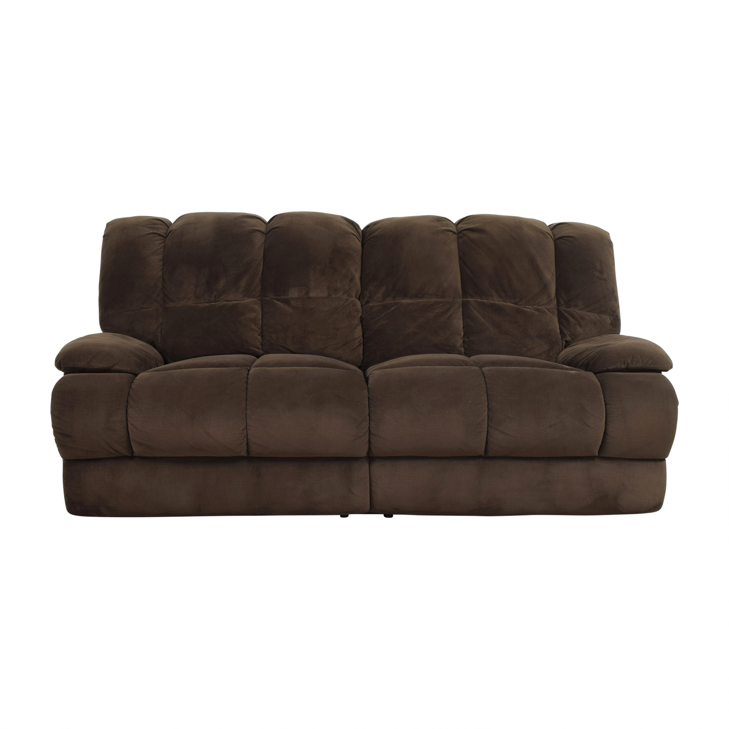 American Signature Furniture American Signature Furniture Brown Recliner Sofa Recliners