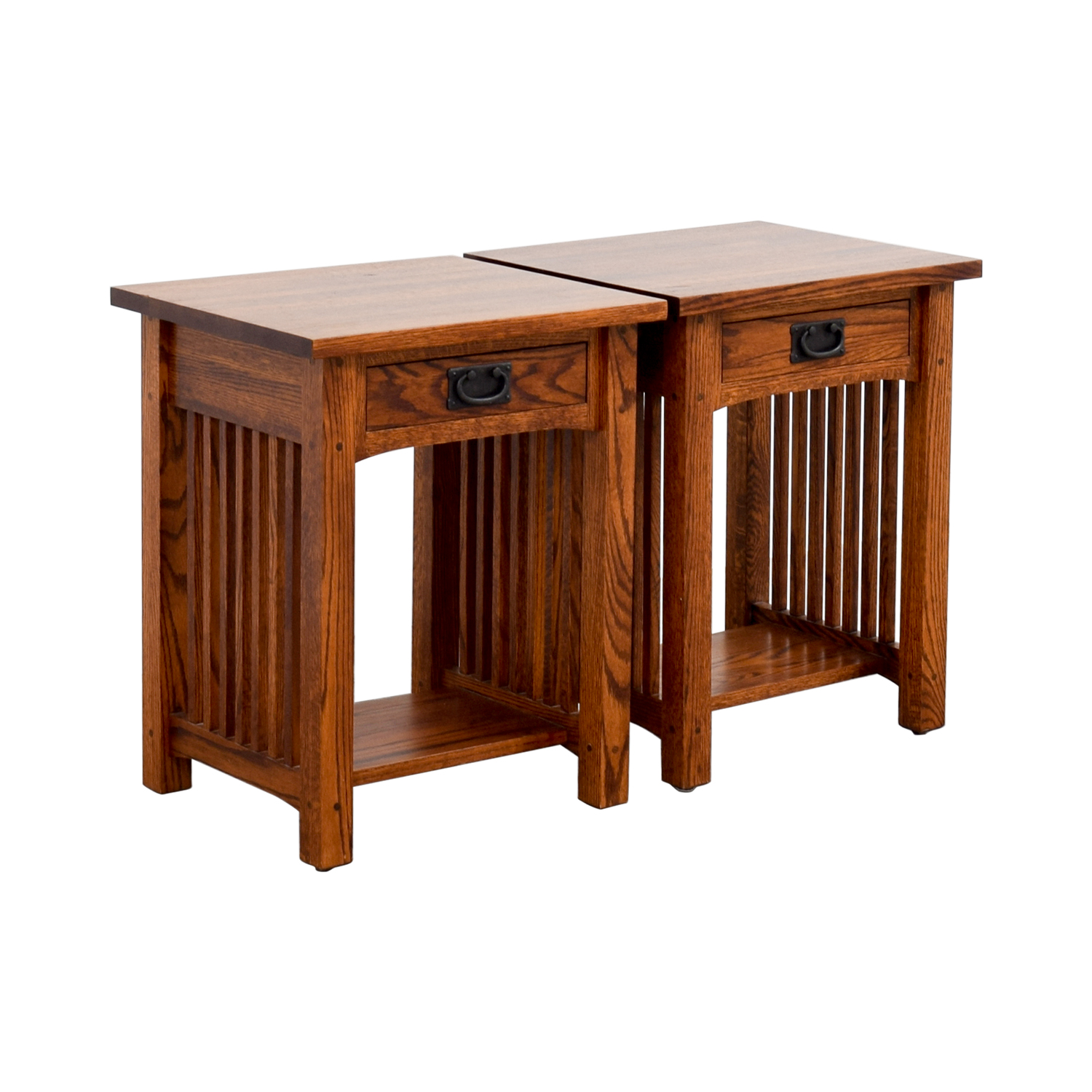 buy Michaels Mission Nightstand in Oak Michaels Mission