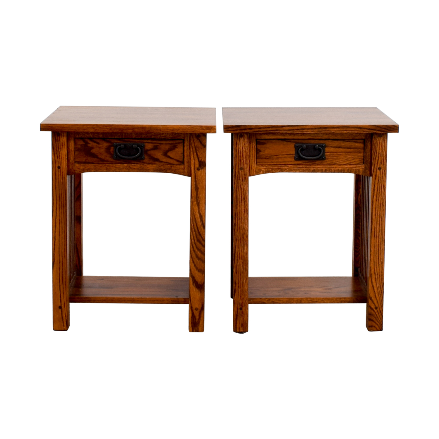Michaels Mission Nightstand in Oak / Tables