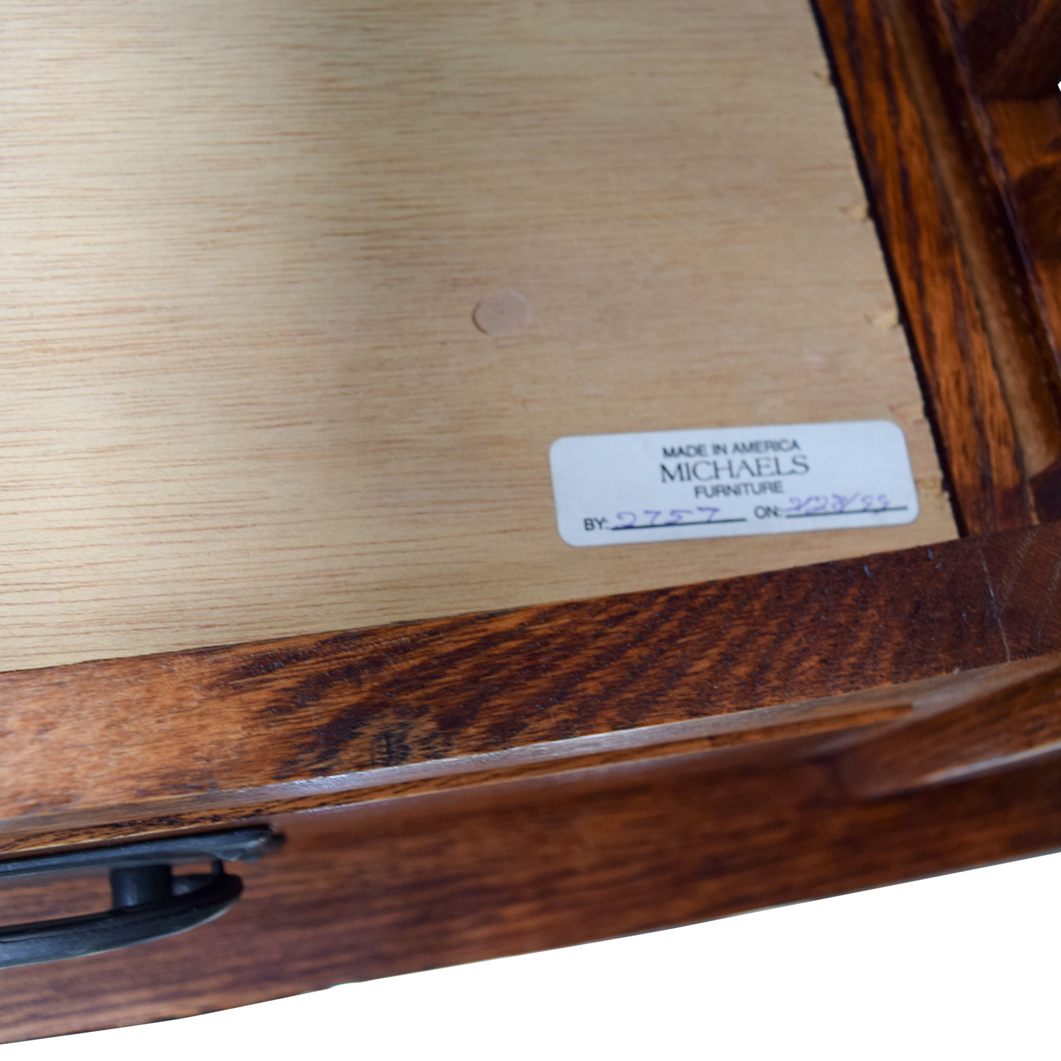 Michaels Mission Michaels Mission Nightstand in Oak nyc