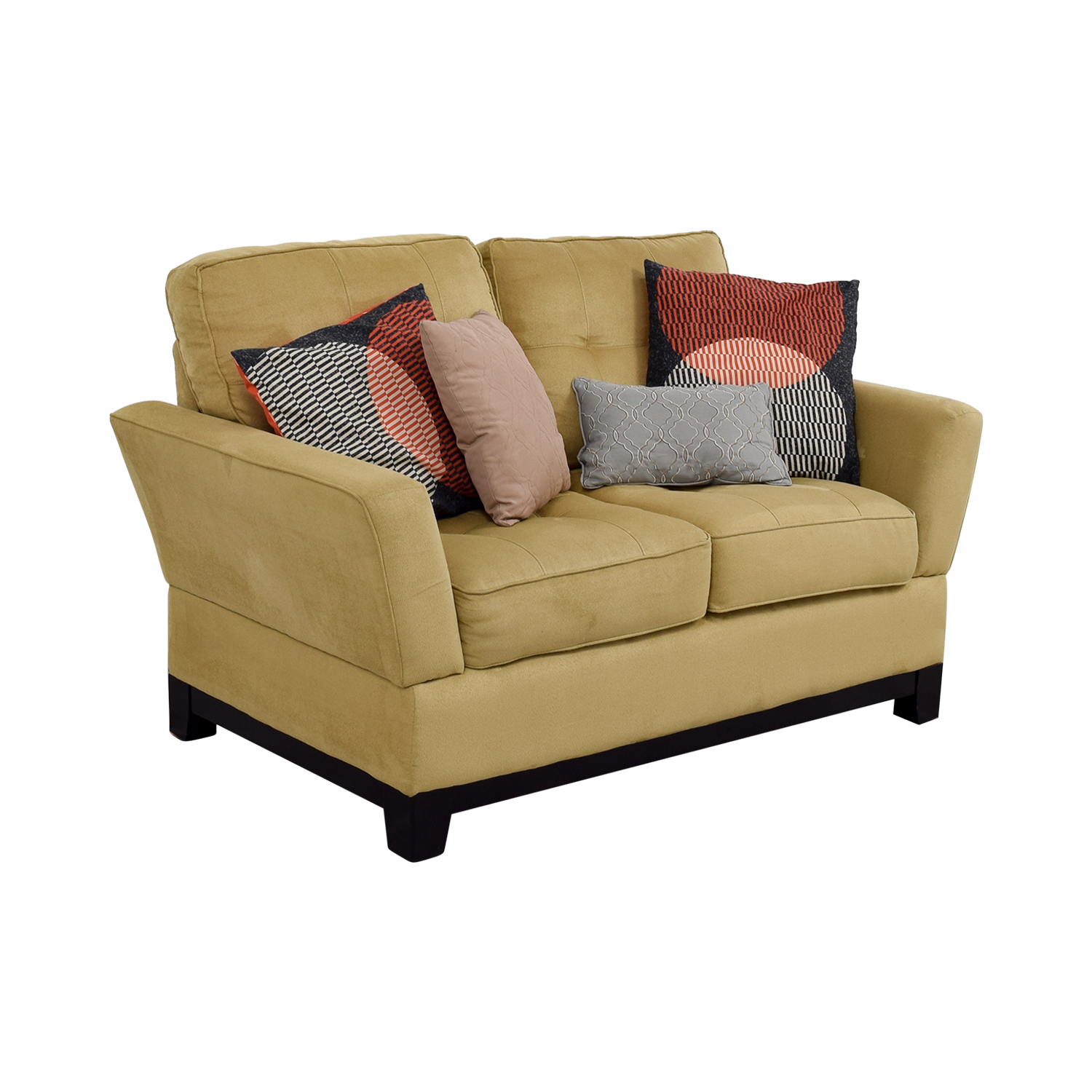 77 off ashley furniture ashley furniture tan loveseat sofas Ashley couch and loveseat