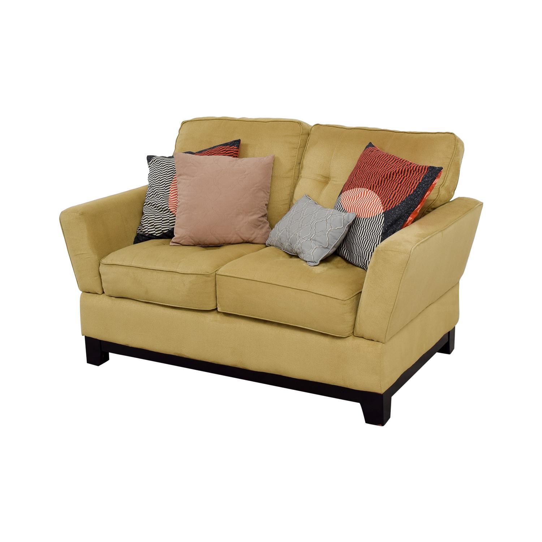 buy Ashley Furniture Tan Loveseat Ashley Furniture