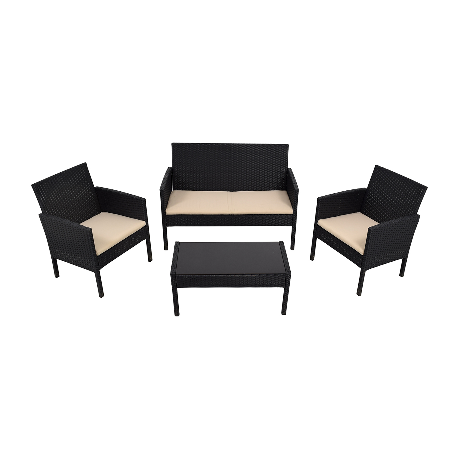 buy radeway black outdoor garden patio furniture radeway dining sets