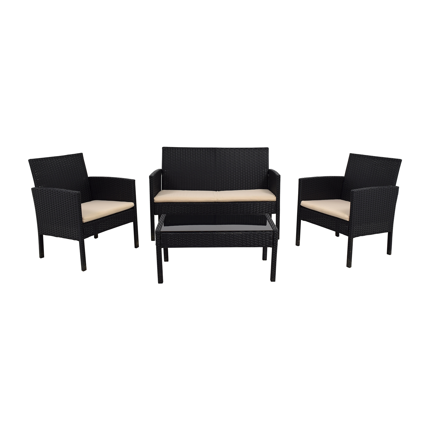 Radeway Radeway Black Outdoor Garden Patio Furniture nj