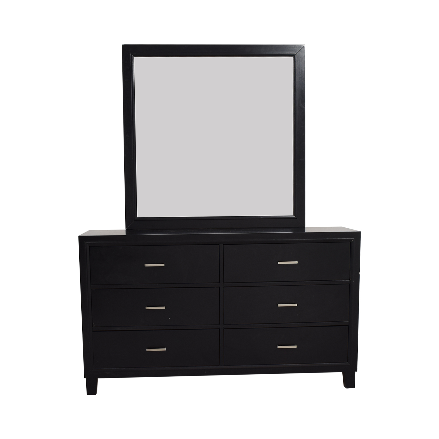 buy Six-Drawer Dresser with Mirror online
