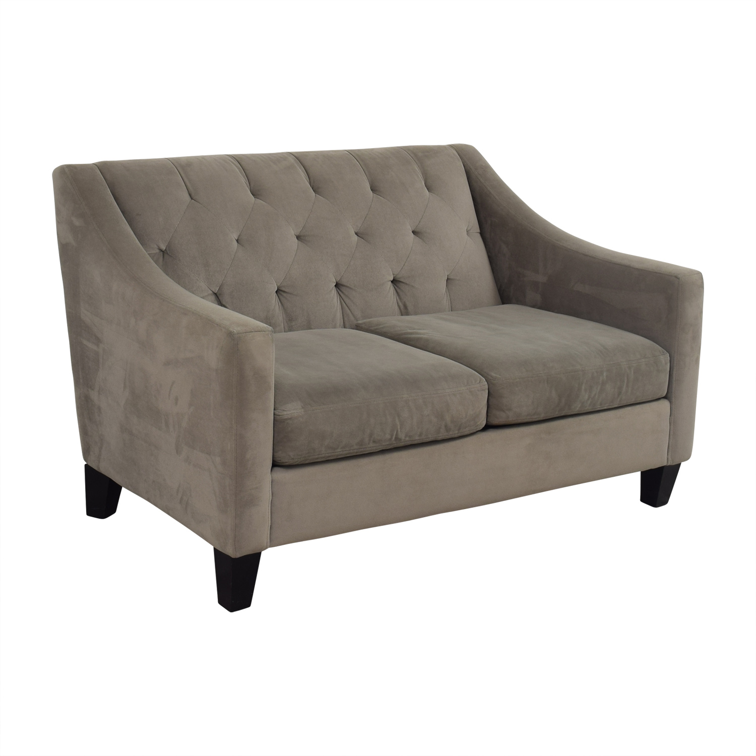 90 off better by design better by design grey tufted for Better by design couch